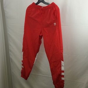 Adidas Women's track pants small red white